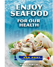 Enjoy Seafood - For Our Health