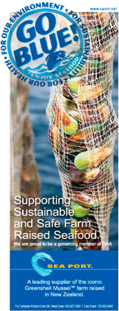 Go Blue! - Supporting Sustainable and Safe Farm Raised Seafood